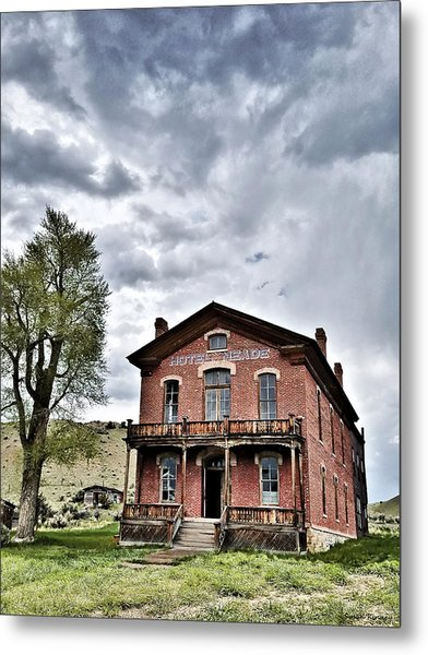Bannack Mt. 7 Metal Print