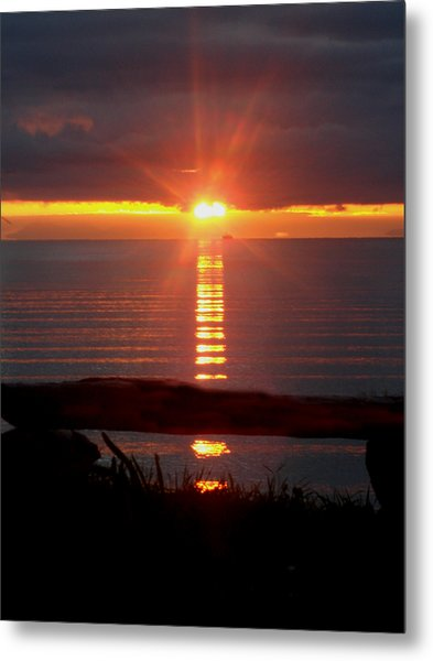 Baptism Sunrise Metal Print by Barbara Stirrup