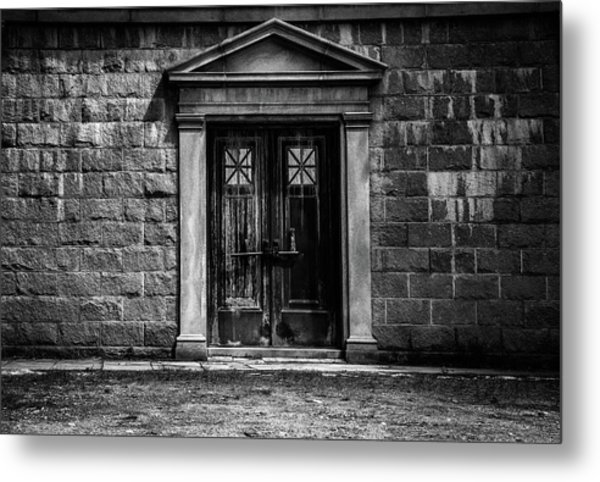Bar Across The Door Metal Print