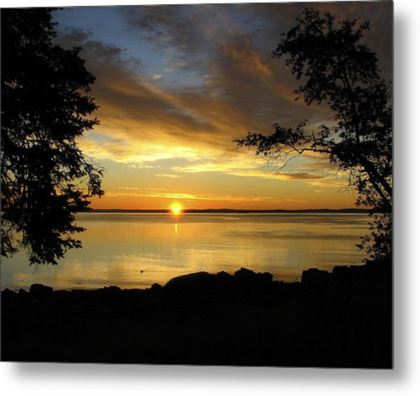 Bar Harbor Sunrise 1 Metal Print