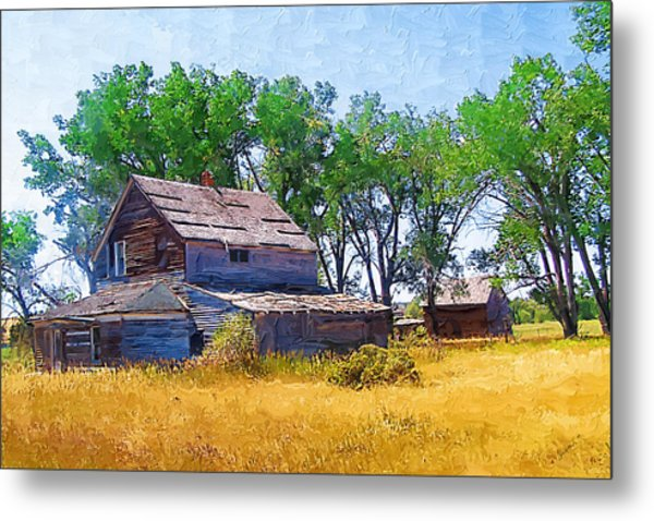 Barber Homestead Metal Print