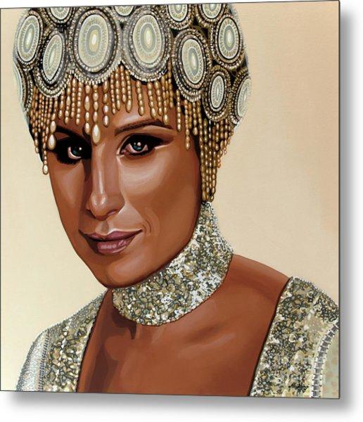 Barbra Streisand 2 Metal Print