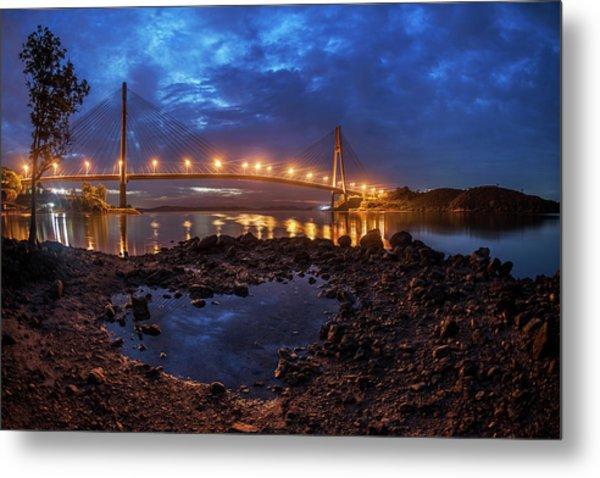 Barelang Bridge, Batam Metal Print
