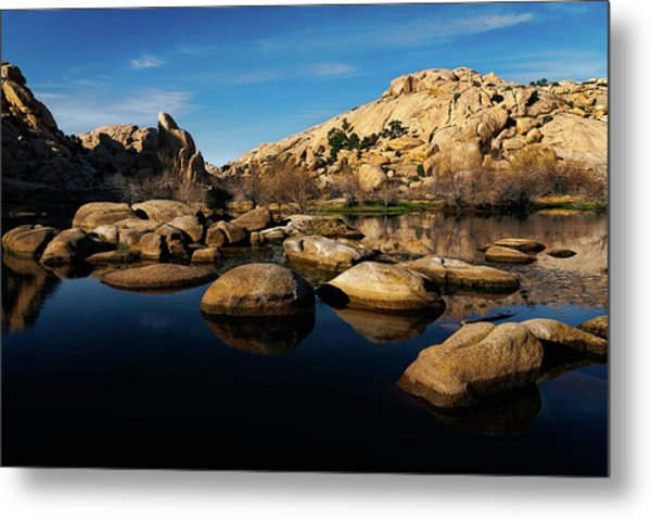 Barker Dam Lake Metal Print