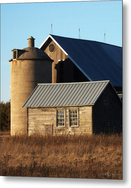 Barn At 57 And Q Metal Print