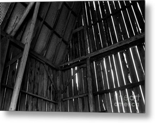 Barn Inside Metal Print