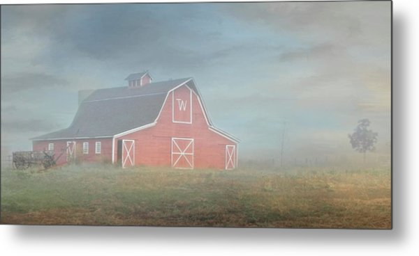 Barn, Longmont, Colorado Metal Print