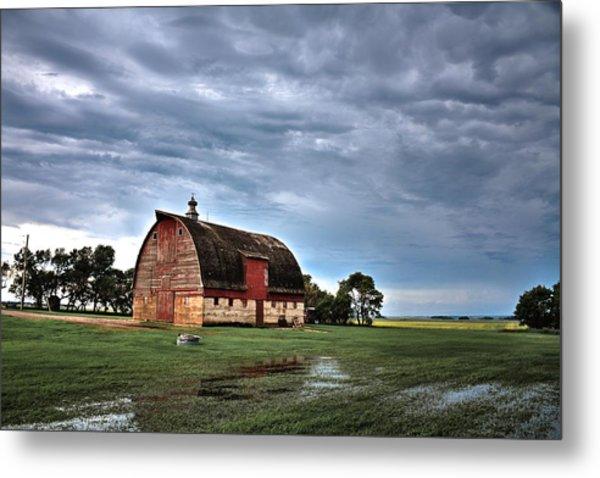 Barn Storming Metal Print