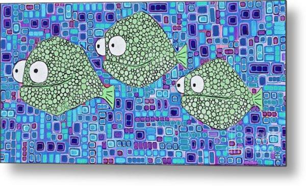 Barnacle Fish Metal Print