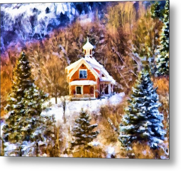 Barre House Metal Print