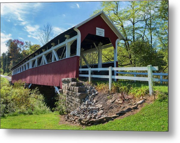 Barronvale Bridge  Metal Print