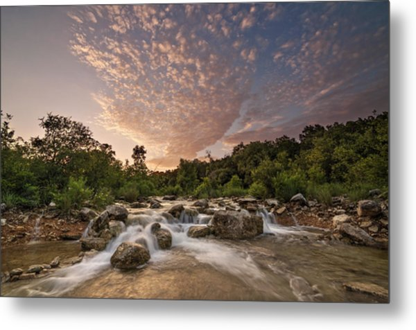Metal Print featuring the photograph Barton Creek Greenbelt At Sunset by Todd Aaron