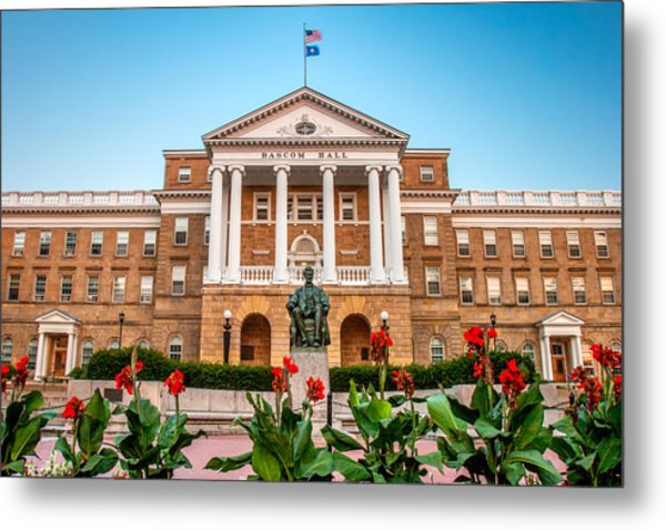 Bascom Hall Metal Print