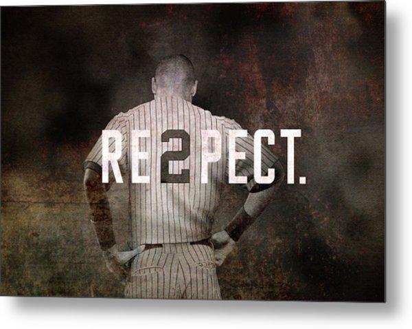 Baseball - Derek Jeter Metal Print