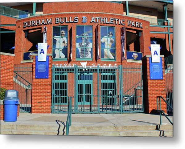 Baseball Stadium Metal Print
