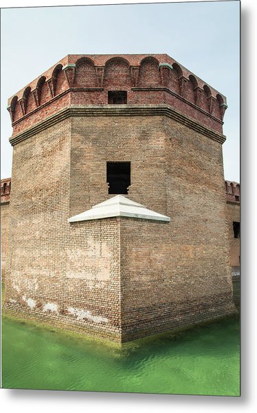 Bastion At Ft Jefferson Metal Print