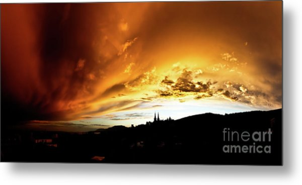 Bathing In The Light Of The Heavens Metal Print