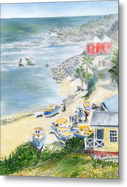 Bathsheba Lookout Metal Print
