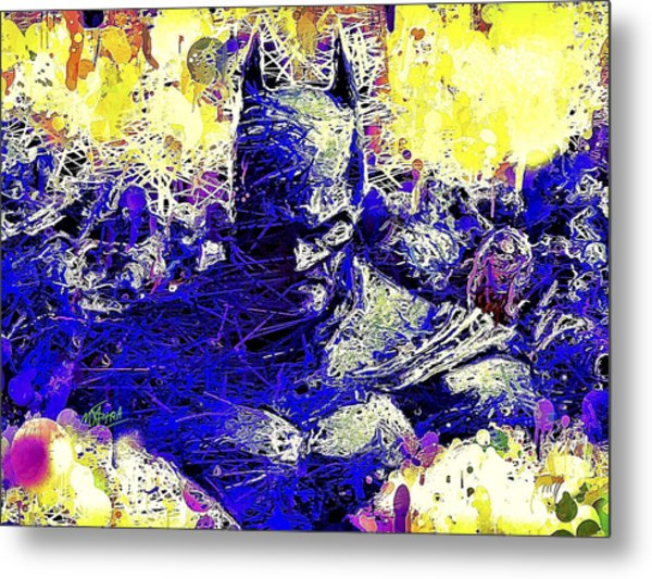 Batman 2 Metal Print