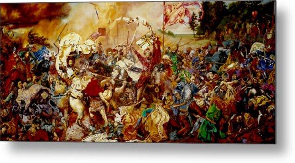 Battle Of Grunwald Metal Print