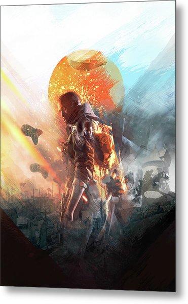 Battlefield Poster Metal Print