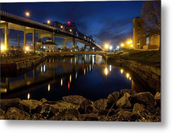 Battleship Cove, Fall River, Ma Metal Print