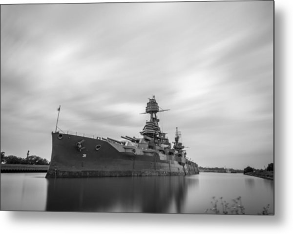 Battleship Texas Metal Print