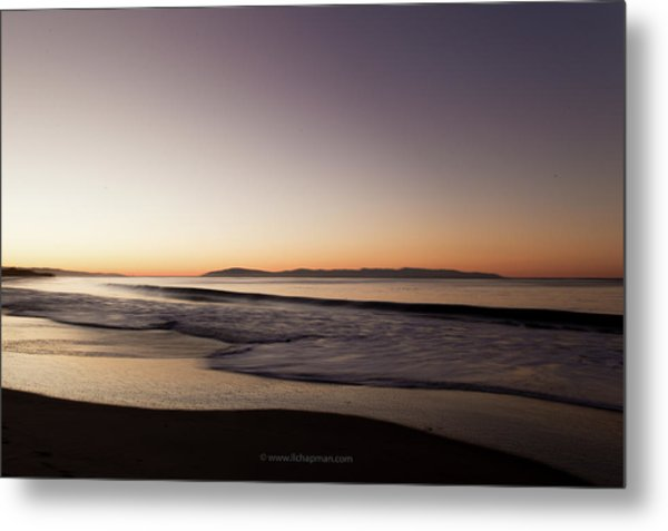 Bay At Sunrise Metal Print