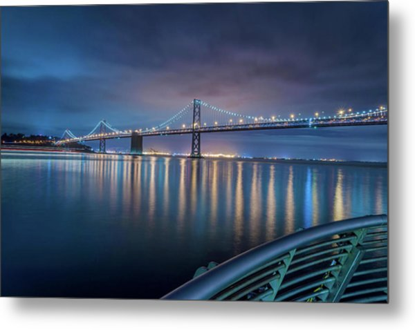 Bay Bridge Blues Metal Print