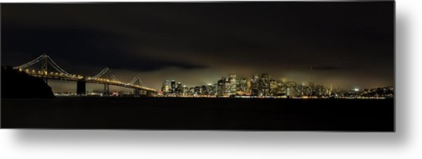 Bay Bridge San Francisco Metal Print