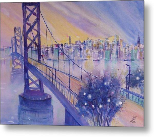 Bay Bridge San Francisco Metal Print