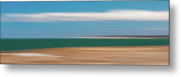 Bay Cloud Metal Print