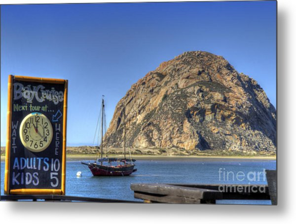 Bay Cruise At 11 Metal Print