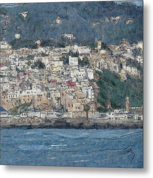 Bay Of Tangier Metal Print