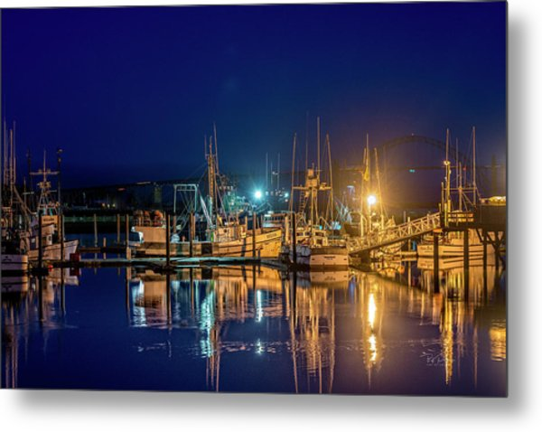 Bayfront Morning Metal Print