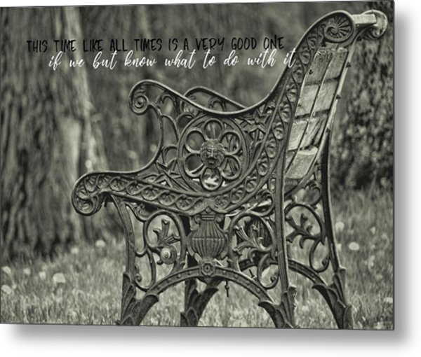 Be Aware Quote Metal Print by JAMART Photography