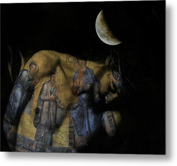 Be The Light In Our Darkness  Metal Print