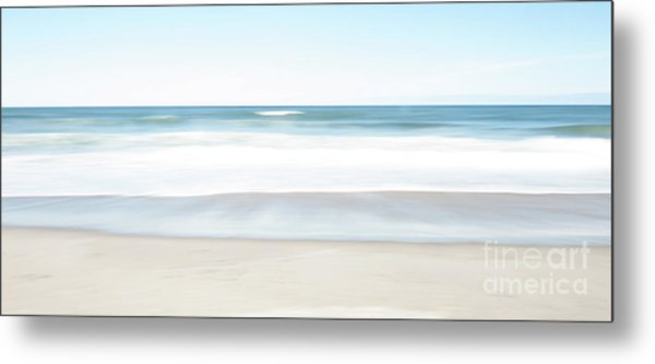Beach Abstract Metal Print