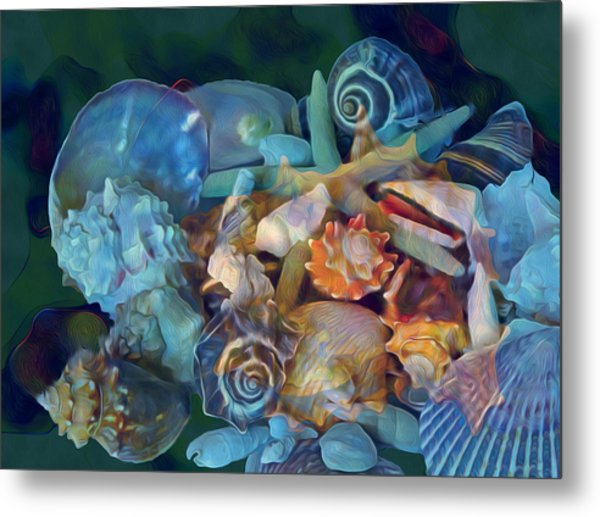 Beach Beauty 7 Metal Print