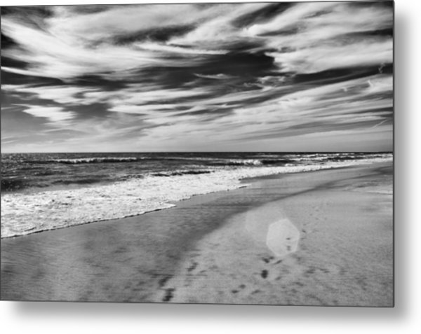 Metal Print featuring the photograph Beach Break by Alison Frank