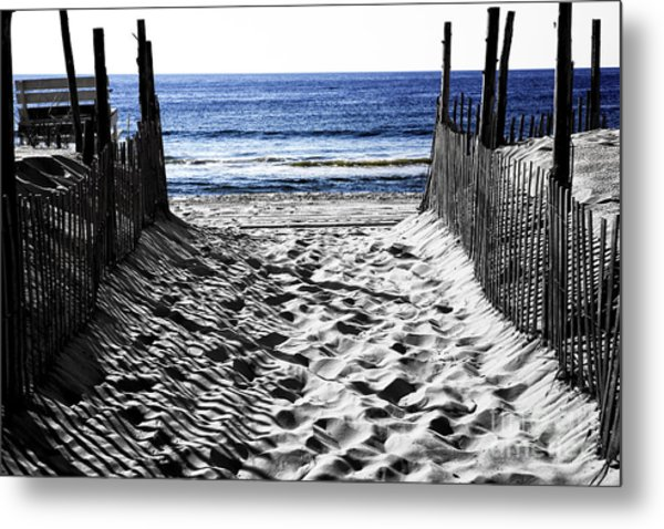 Beach Entry Fusion Metal Print