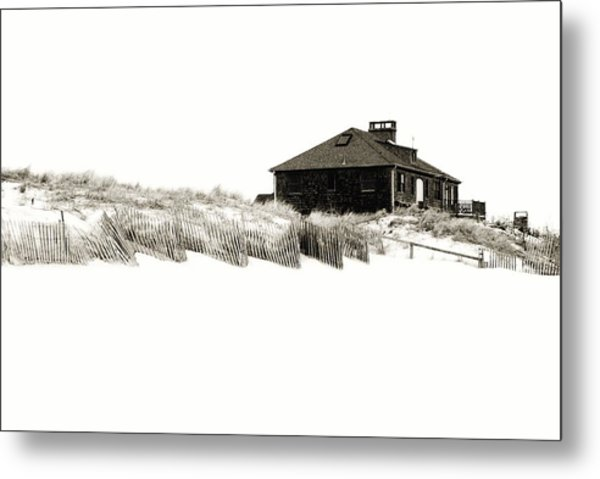 Beach House - Jersey Shore Metal Print