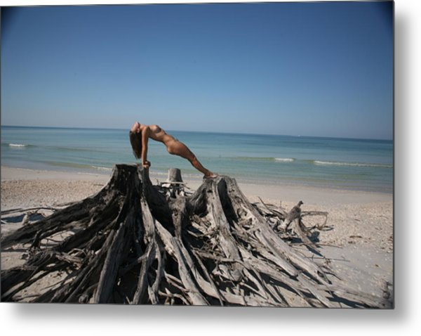 Beach Ngirl Metal Print