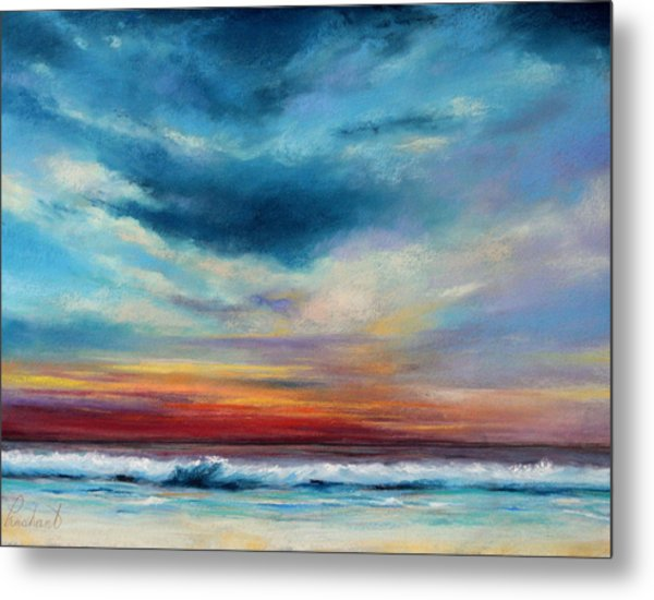 Beach Sunset Metal Print by Prashant Shah
