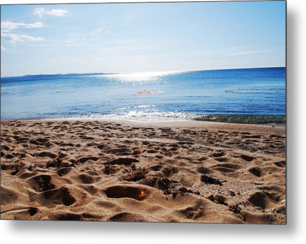 Beach Metal Print by Susette Lacsina