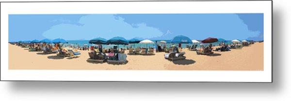 Beach Time Metal Print