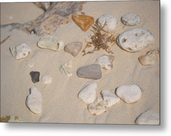 Beach Treasures 2 Metal Print