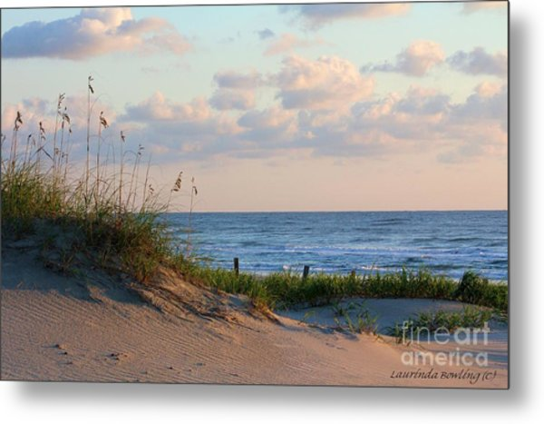 Beaches Of Outer Banks Nc Metal Print
