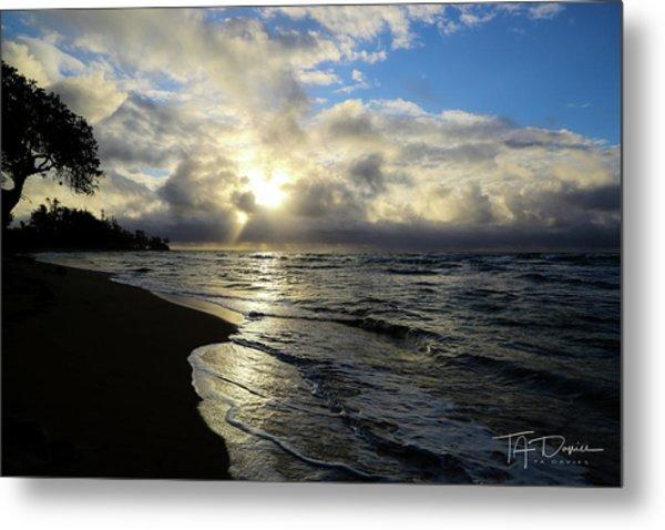 Beachy Morning Metal Print
