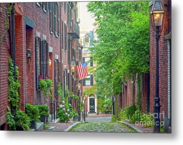Beacon Hill Metal Print